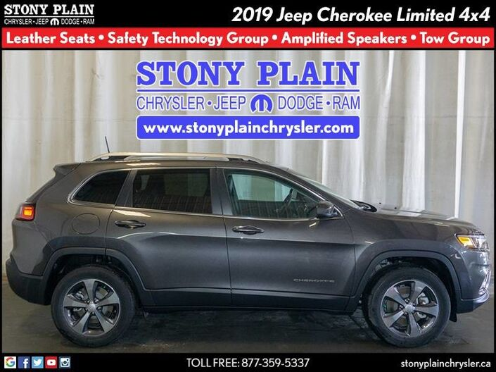 2019 Jeep Cherokee Limited Stony Plain AB