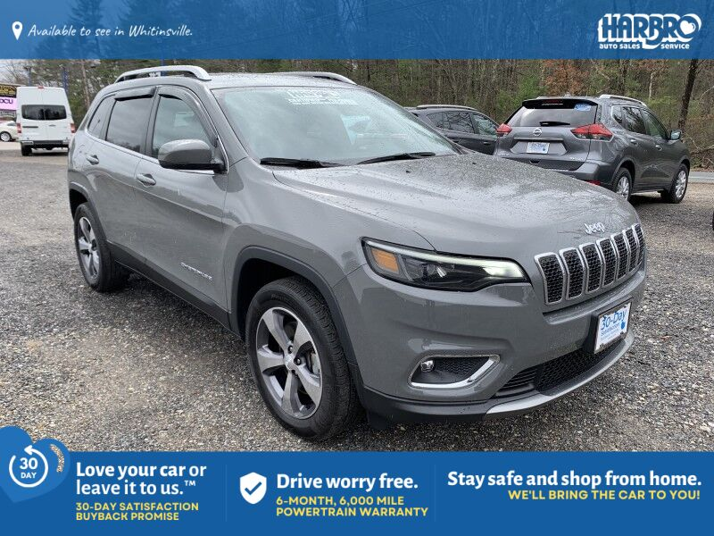 2019 Jeep Cherokee Limited Whitinsville MA