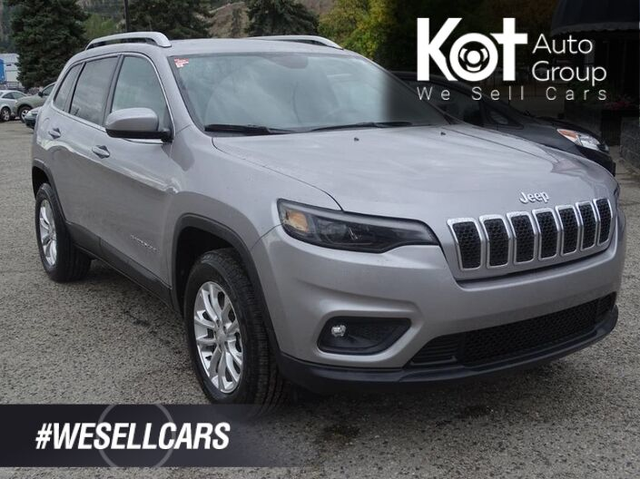 2019 Jeep Cherokee North, 60/40 split rear seat, Uconnect, SXM Radio Kelowna BC