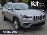 2019 Jeep Cherokee North, No Accidents! Low KM's, Uconnect, SXM Radio, Back-up Camera