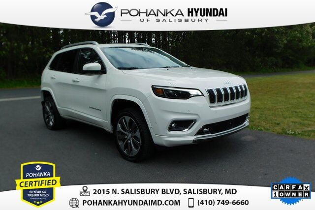2019 Jeep Cherokee Overland **ONE OWNER** Salisbury MD