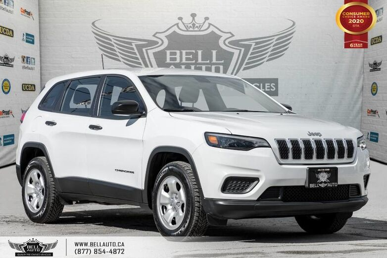2019 Jeep Cherokee Sport, 4X4, REAR CAM, HEATED STEERING, BLUETOOTH Toronto ON