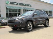 2019_Jeep_Cherokee_Trailhawk 4WD LEATHER, BACKUP CAMERA, BLIND SPOT MONITOR, MULTI DRIVABILITY MODES, PUSH BUTTON START_ Plano TX