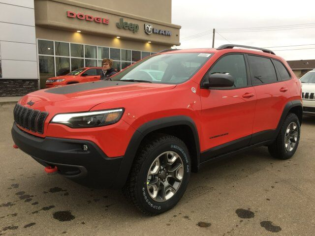 2019 Jeep Cherokee Trailhawk Elite Redwater AB