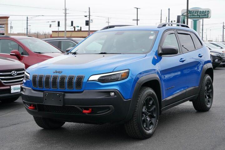 2019 Jeep Cherokee Trailhawk Fort Wayne Auburn and Kendallville IN