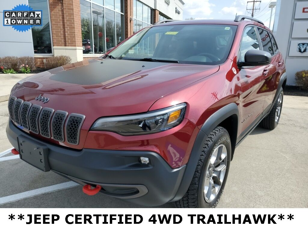 2019 Jeep Cherokee Trailhawk Mayfield Village OH