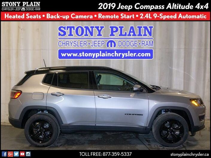 2019 Jeep Compass Altitude Stony Plain AB