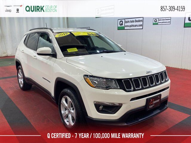 2019 Jeep Compass Latitude 4x4 Boston MA