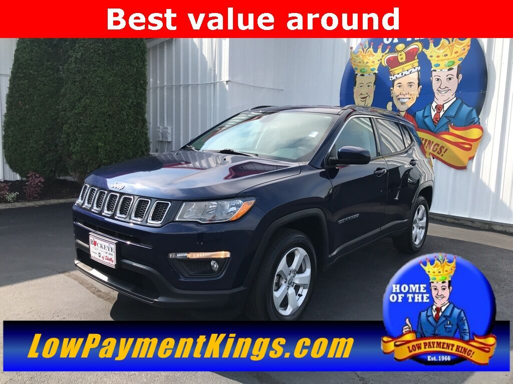 2019 Jeep Compass Latitude Shelby OH