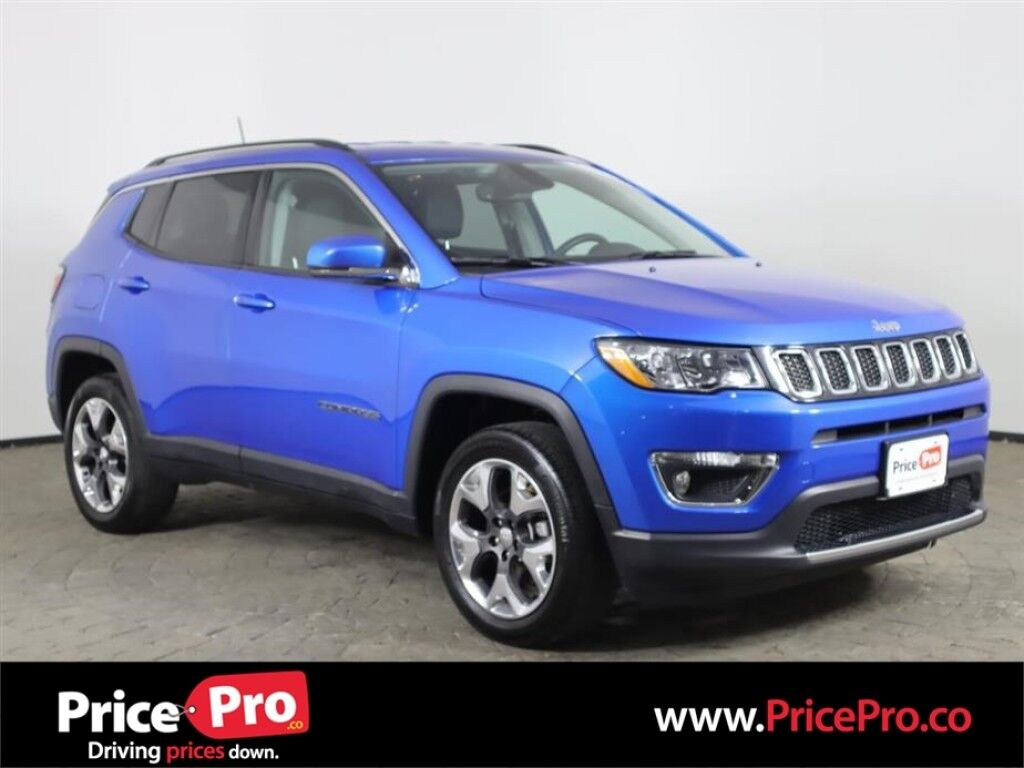 2019 Jeep Compass Limited 4x4 w/Heated Leather Maumee OH