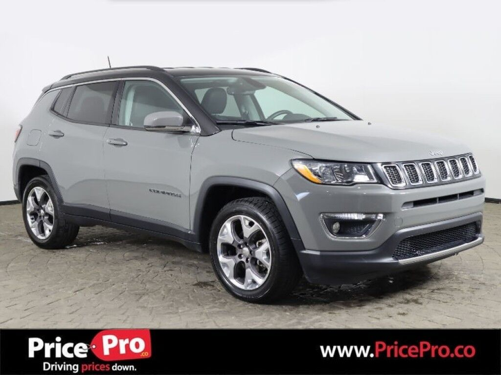 2019 Jeep Compass Limited 4x4 w/Heated Leather
