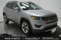 Jeep Compass Limited CAM,HTD STS,KEY-GO,18IN WHLS 2019