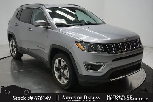 2019_Jeep_Compass_Limited CAM,HTD STS,KEY-GO,18IN WHLS_ Plano TX