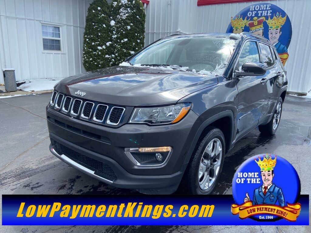 2019 Jeep Compass Limited Shelby OH