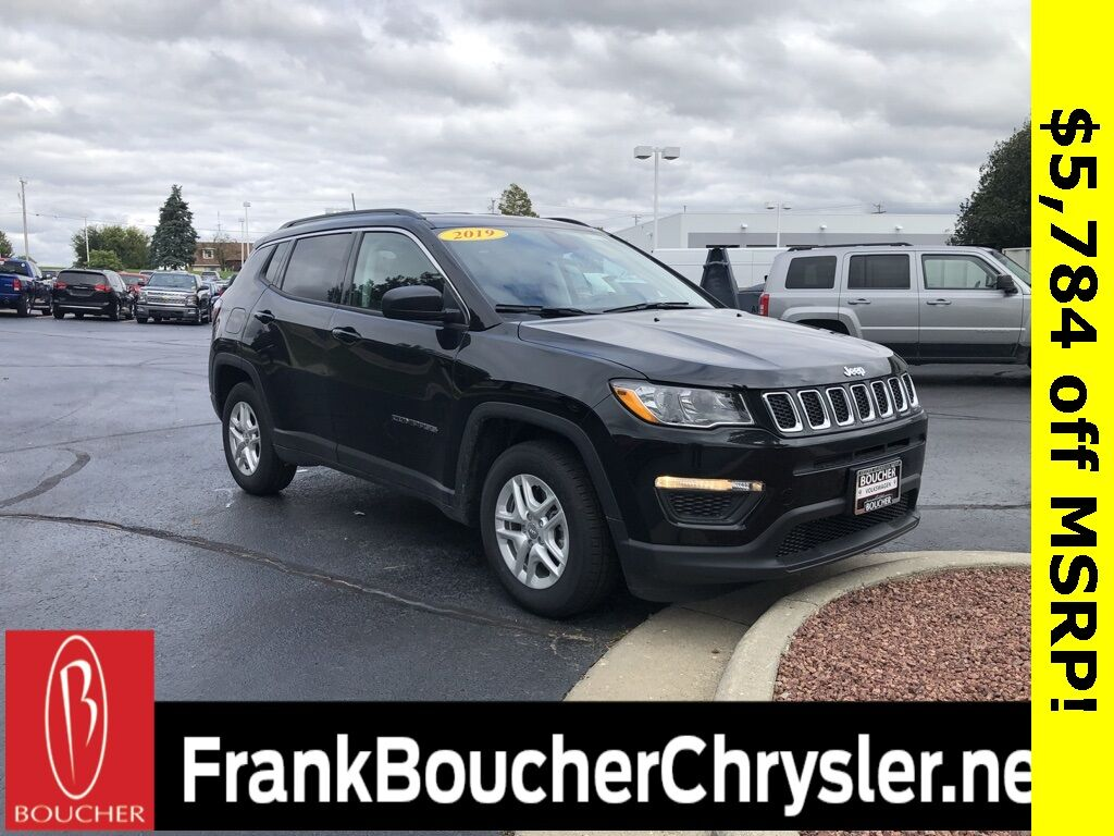 2019 Jeep Compass SPORT FWD Janesville WI