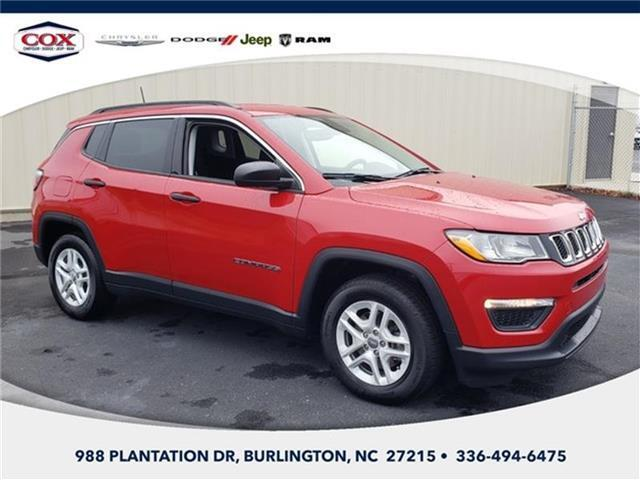 2019 Jeep Compass Sport Front-wheel Drive Burlington NC