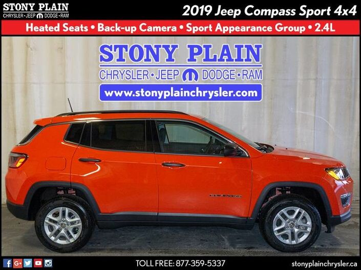 2019 Jeep Compass Sport Stony Plain AB