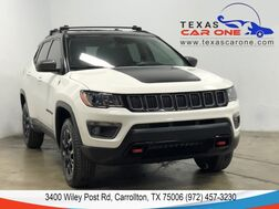 2019_Jeep_Compass_TRAILHAWK 4WD AUTOMATIC LEATHER/CLOTH SEATS REAR CAMERA KEYLESS_ Carrollton TX