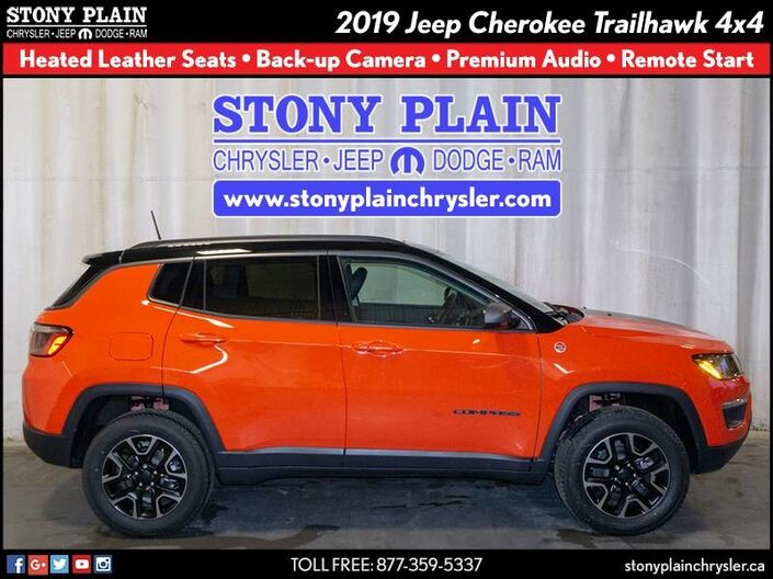 2019 Jeep Compass Trailhawk Stony Plain AB