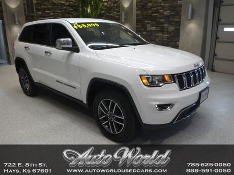 2019 Jeep GR CHEROKEE LIMITED 4X4  Hays KS