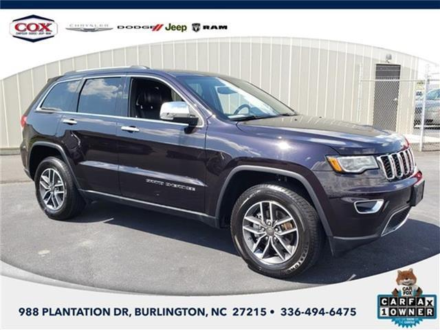 2019 Jeep Grand Cherokee Burlington NC