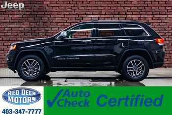 2019_Jeep_Grand Cherokee_4x4 Limited Leather Roof Nav BCam_ Red Deer AB