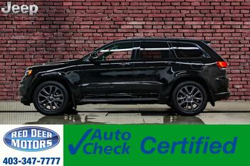 2019_Jeep_Grand Cherokee_4x4 Overland High Altitude Leather Roof Nav BCam_ Red Deer AB