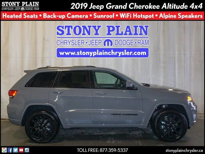 2019 Jeep Grand Cherokee Altitude Stony Plain AB