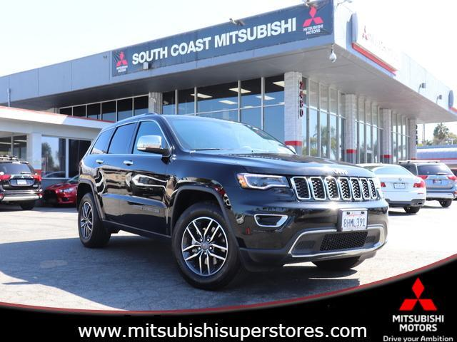 2019 Jeep Grand Cherokee LIMITED Costa Mesa CA