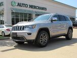 2019 Jeep Grand Cherokee Limited 2WD LEATHER, NAVIGATION, BACKUP CAM, KEYLESS START, KEYLESS ENTRY, UNDER FACTORY WARRANTY