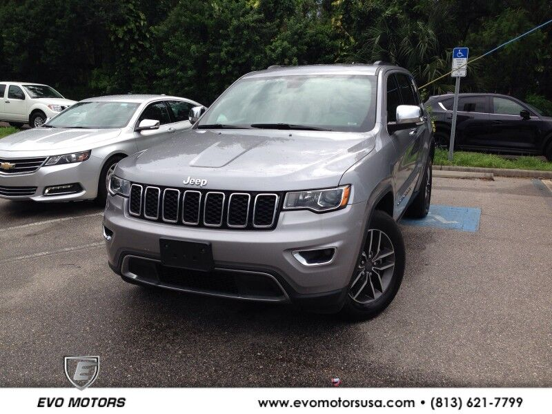 2019 Jeep Grand Cherokee Limited 4X4 Seffner FL