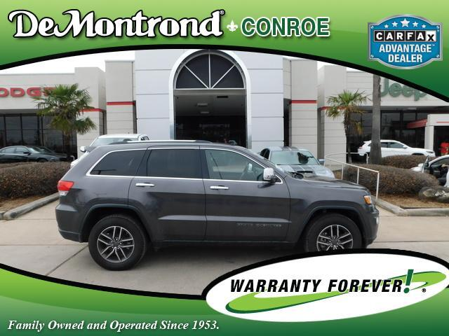 2019 Jeep Grand Cherokee Limited 4x2 Conroe TX