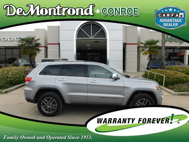 2019 Jeep Grand Cherokee Limited 4x4 Conroe TX