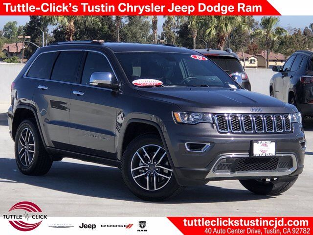 2019 Jeep Grand Cherokee Limited Tustin CA