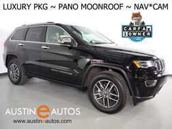 2019_Jeep_Grand Cherokee Limited_*LUXURY GROUP II, NAVIGATION, BLIND SPOT ALERT, BACKUP-CAMERA, PANORAMA MOONROOF, LEATHER, CLIMATE SEATS, BLUETOOTH, APPLE CARPLAY_ Round Rock TX