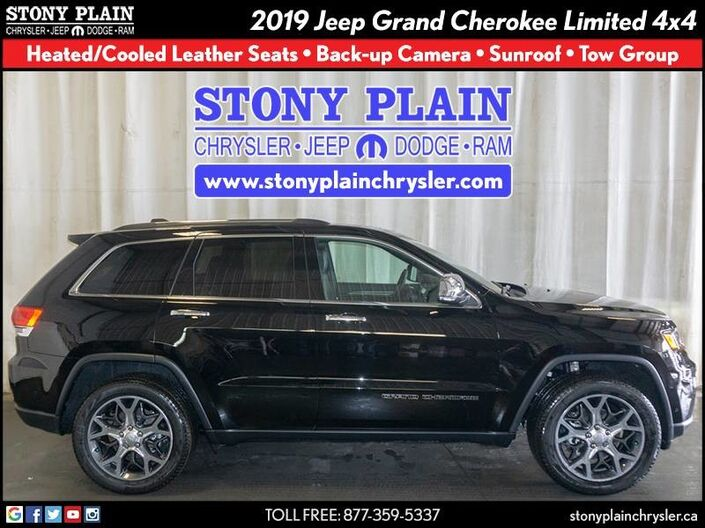 2019 Jeep Grand Cherokee Limited Stony Plain AB