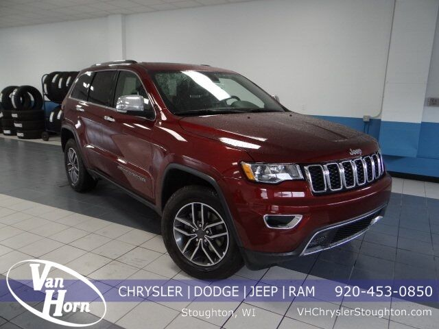 2019 Jeep Grand Cherokee Limited Stoughton WI