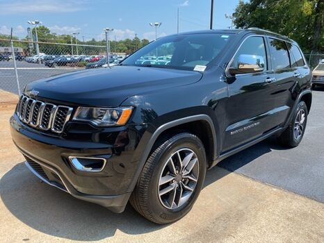 2019_Jeep_Grand Cherokee_Limited_ Aiken SC