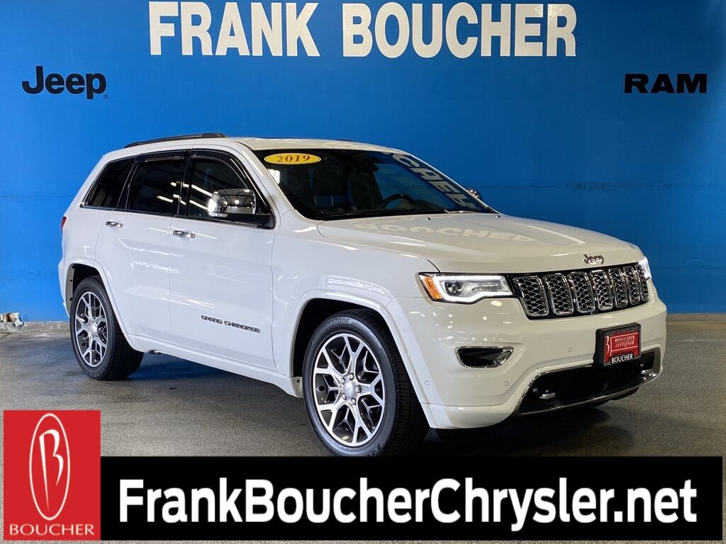 2019 Jeep Grand Cherokee Overland Janesville WI