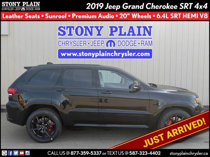 2019 Jeep Grand Cherokee SRT Stony Plain AB