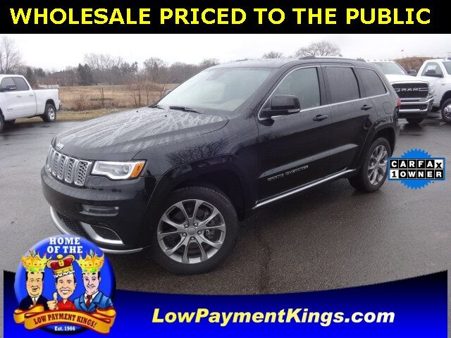 2019 Jeep Grand Cherokee Summit Monroe MI