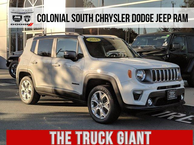 2019 Jeep Renegade Limited 4x4 Dartmouth MA