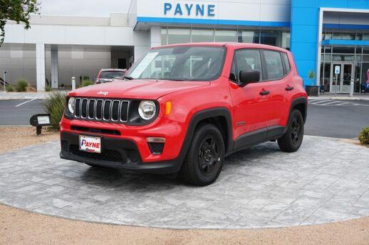2019 Jeep Renegade Sport Mission TX