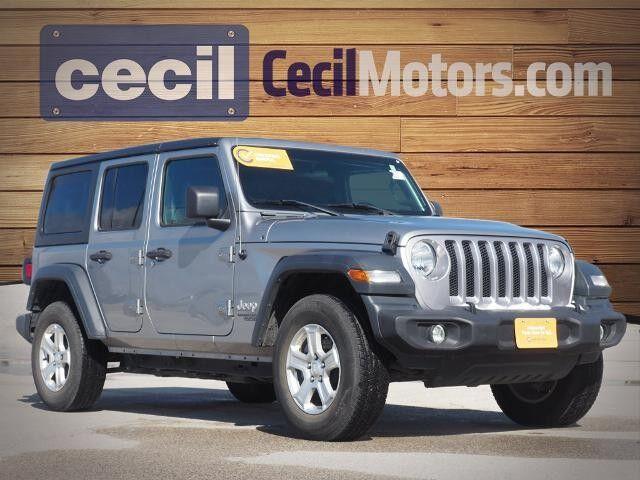 2019 Jeep Wrangler Sport  TX