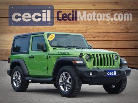 2019 Jeep Wrangler Sport S  TX