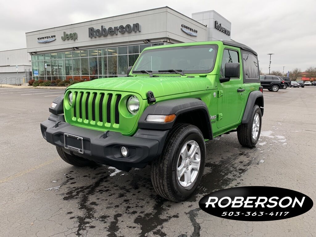 2019 Jeep Wrangler Sport Salem OR