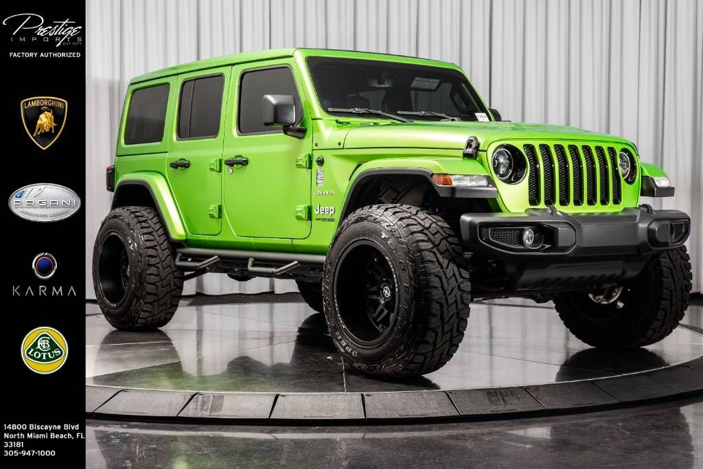 2019 Jeep Wrangler Unlimited Moab North Miami Beach FL
