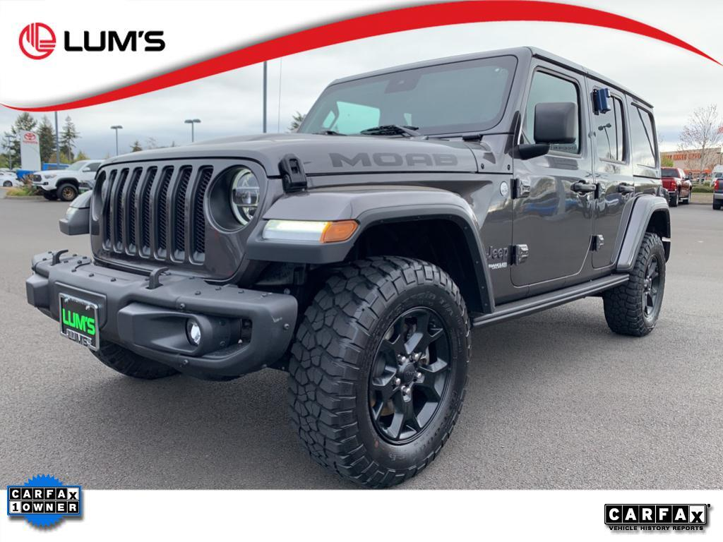 2019 Jeep Wrangler Unlimited Moab Warrenton OR