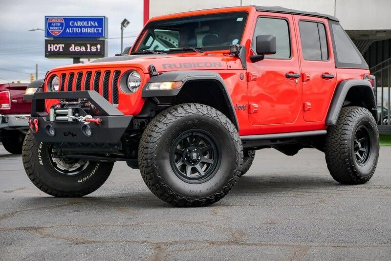 2019 Jeep Wrangler Unlimited Rubicon 4X4 **LIFTED** Soft Top w/ Heated Front Seats & Remote Start Mooresville NC