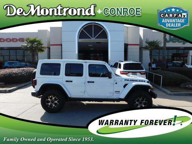 2019 Jeep Wrangler Unlimited Rubicon 4x4 Conroe TX